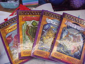 Dragons of Deltora, Books #1, #2, #3, and #4