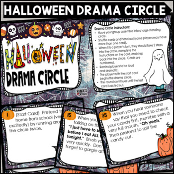 Halloween Drama Circle