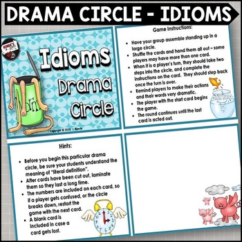 Drama Circle - Idioms