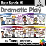 Dramatic Play Set - 8 Complete Centers