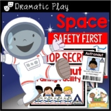 Dramatic Play Space Theme Printables for Pre-K and Kindergarten