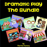 Dramatic Play  ~Vet, Restaurant, Eye Doctor, Airport, News