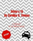 Driver's Ed (Caroline Cooney) Questions + Vocab + Follow-u
