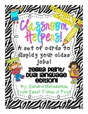 Dual Language Classroom Helpers Kit for a Class Jobs Board