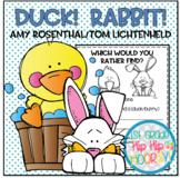 Duck! Rabbit! ...Literacy Activities