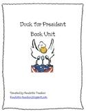 Duck for President Book Activities