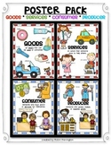ECONOMICS Poster Pack: Social Studies {Goods/Services & Co