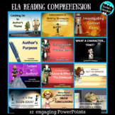 ELA Reading Comprehension Collection Bundle -