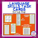 ELA Test Prep - Language Skills Task Cards