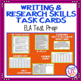 ELA Test Prep - Writing & Research Task Cards