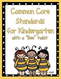 ELA and Math Common Core Standards for Kindergarten (with