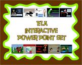 ELA interactive PowerPoint Set on CD