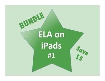 ELA on iPads Bundle #1 (Common Core Aligned!)