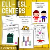 ELL or ESL Centers
