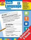 Daily Language Review: Grade 6 (Enhanced eBook)