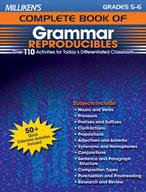 Milliken's Complete Book of Grammar Reproducibles: Grades 5,6