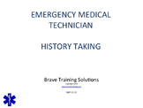 EMT LESSON PATIENT HISTORY TAKING