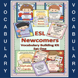 ESL Newcomers Vocabulary Building Kit   Set One