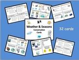 ESL Weather & Seasons Conversation Cards