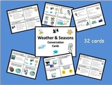 ESL Weather & Seasons Conversation Cards