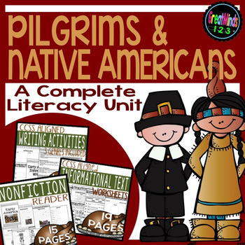 Early America - Pilgrims and Native Americans (informational text)