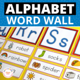 Word Wall Cards and ABC Headers for Early Childhood in 3 Colors