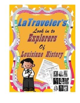 LOUISIANA - Early Explorer Era Trading Cards