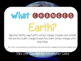 Earth Changes (Fast and Slow Changes) Mini Unit Foldables