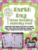 Earth Day Activity Pack with Close Reading and More