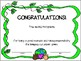 Earth Day Certificate of Recognition-Free!