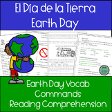 Earth Day! El Dia de la Tierra 20 page PACKET for Spanish