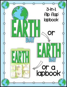 Earth Day Flip Flap Books For Notebooking or Lapbooks