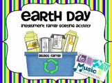 Earth Day Instrument Family Matching