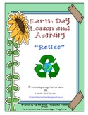 Earth Day Lesson and Activity for REUSE