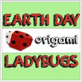 SUMMER / EARTH DAY Origami Ladybug Lesson EASY PRINTABLE I