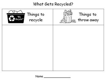 Earth Day - Recycling Sort