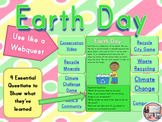 Earth Day Science Computer Webquest