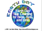 Earth Day Skip Counting by 2s, 5s, and 10s!