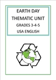 Earth Day Thematic Unit (Intermediate) for Very Busy Teachers