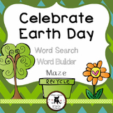 Earth Day Word Search and Word Builder