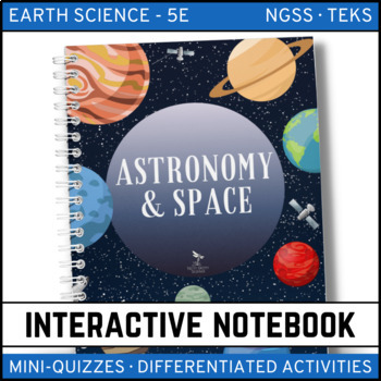 Earth Science Interactive Notebook - Astronomy and Space Science