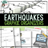 Earthquakes / Faulting Graphic Organizer
