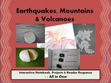 Earthquakes,Mountains& Volcanoes:Interactive Notebook,Proj