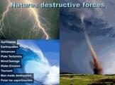 Earths Active Elements- Volcanoes, Earthquakes, Tsunamis,