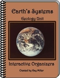 Earth's Systems (Geology) Interactive Organizers