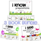 Easter Adapted Book BUNDLE How Many? What Color? What? 1-2