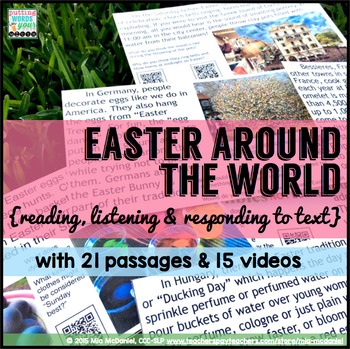 Easter Around the World {reading and responding to non-fiction text} and more!