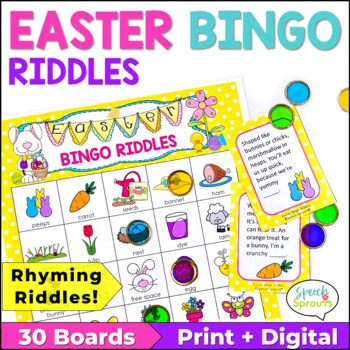 Easter Bingo Riddles