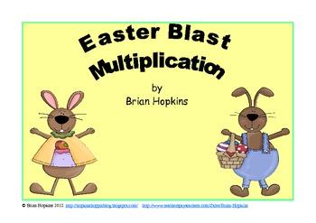 Easter Blast Multiplication Game