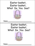 Easter Bunny Emergent Reader for Preschool Kindergarten